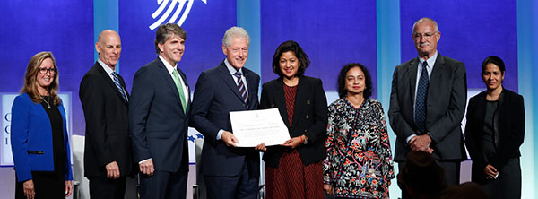 Photo by Clinton Global Initiative
