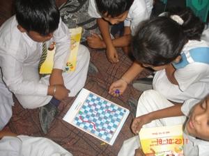 Healthy Schools Students. Photo courtesy of HRIDAY